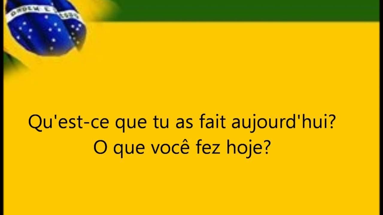 apprendre le portuguais niveau debutant
