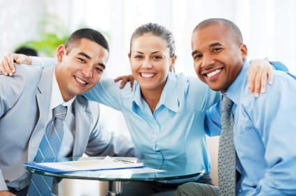 Smiling embraced businesspeople celebrating their teamwork.  [url=http://www.istockphoto.com/search/lightbox/9786622][img]http://img543.imageshack.us/img543/9562/business.jpg[/img][/url]  [url=http://www.istockphoto.com/search/lightbox/9786738][img]http://img830.imageshack.us/img830/1561/groupsk.jpg[/img][/url]